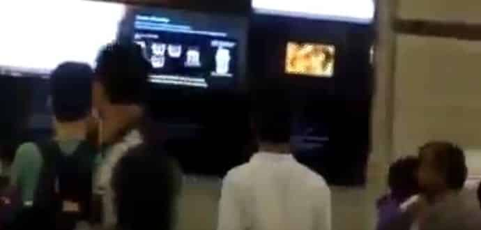 Porn video played on LED screen at Delhi's Rajiv Chowk Metro station