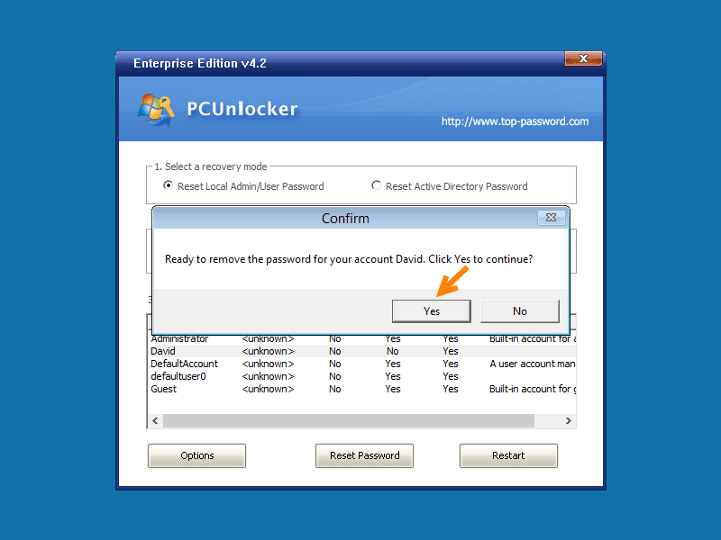 Steps to Recover Windows Administrator Password: