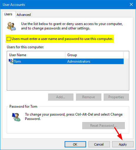Option 1: Automatically Bypass Windows Local Administrator Password