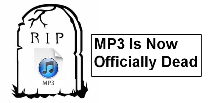 MP3 is now officially dead
