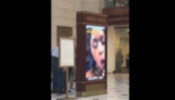Hackers Play Pornhub Videos At Union Station Ad Screen