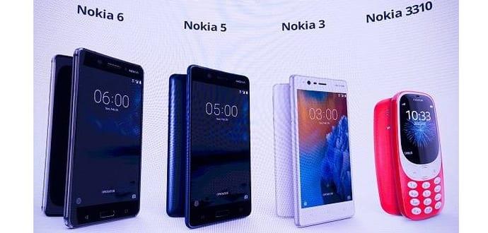 Nokia 6, Nokia 5, Nokia 3 and Nokia 3310 up for pre-orders, price revealed on UK website