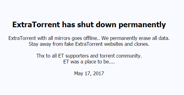 Whammy for Torrent community as Extratorrent shuts shop, here are top three torrent download alternatives