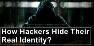How do hackers hide their IP address?