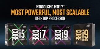 Intel's 'Core X'- Core i9 & 18-core Core i9 Extreme Processors are finally here!!!