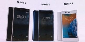 First impressions of Nokia 6, Nokia 5, and Nokia 3
