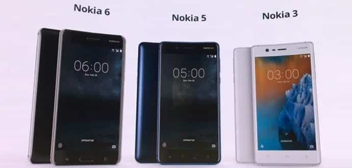 First impressions of Nokia 6, Nokia 5, and Nokia 3