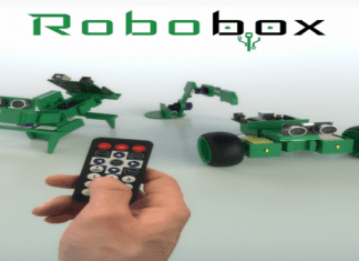 Now you can build your own Arduino Robot with Robobox