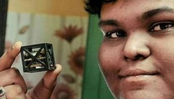 18 Year Old Indian Teen Develops World's 'Smallest' Satellite- And NASA Is Launching It