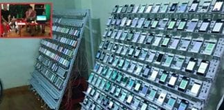Click farm with 474 iPhones, 347200 SIM cards and 10 computers Busted In Thailand
