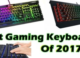 Best gaming keyboards of 2017