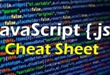 Ultimate JavaScript Cheat Sheet