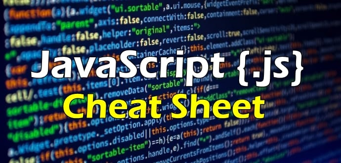 Ultimate JavaScript Cheat Sheet