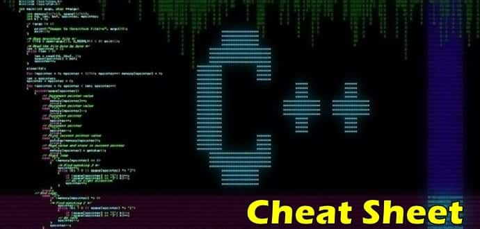 Ultimate C++ Programming Language Cheat Sheet » TechWorm