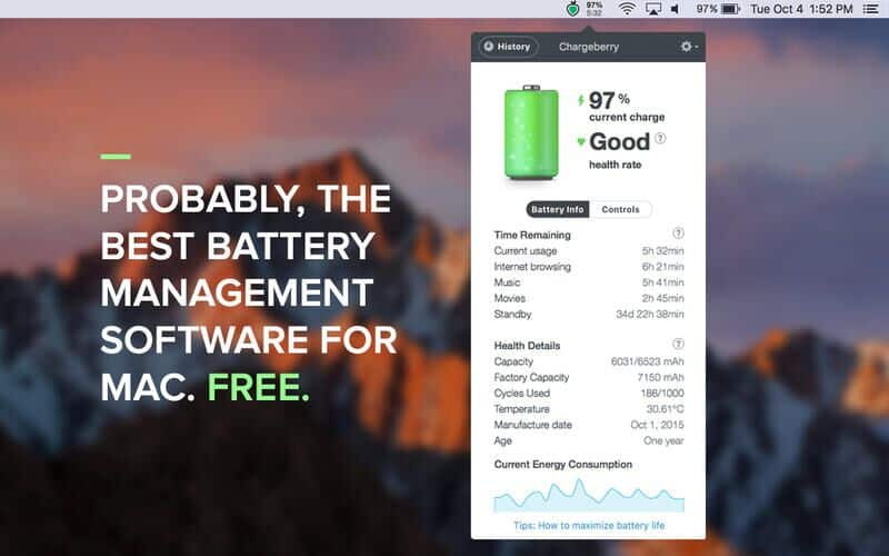 Chargeberry - The best battery saving app ever