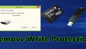 How To Remove Write Protection From A USB Pen Drive And Memory Card
