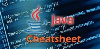 Ultimate Java Programming Cheatsheet