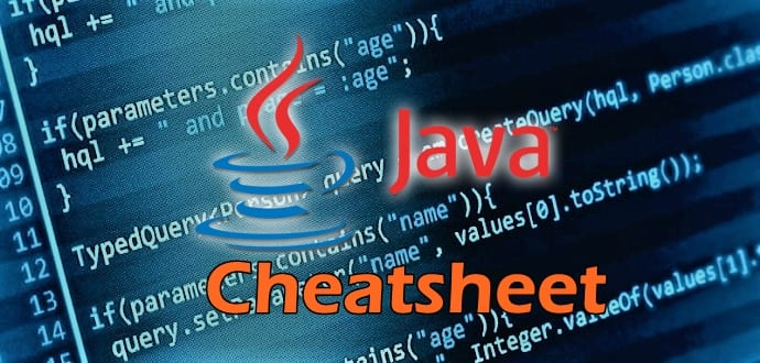 Ultimate Java Programming Cheatsheet