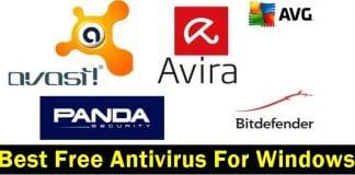 Best Free Antivirus For Windows -2017 Edition