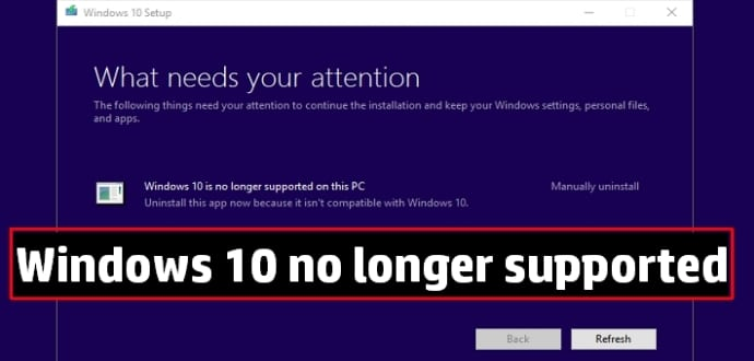 Windows 10 Support Ending On These PCs