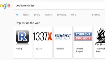 Google unintentionally promoting 'best torrent sites' in search results