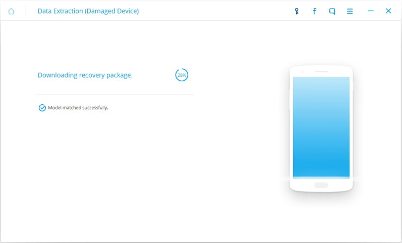 Step 6: Now, your device will start in download mode and the toolkit will automatically analysing it and install recovery. This may take some time to complete.
