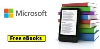 Microsoft's annual giveaway of free eBooks is here!