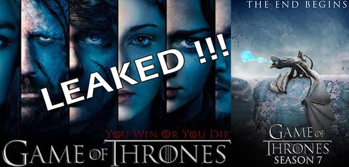 Entire 'Game Of Thrones Season 7' Leaked online? HBO Confirms It Has Been hacked