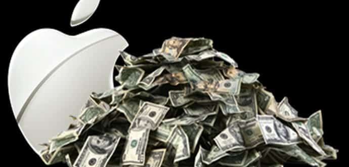 Apple is sitting on $261.5 billion in cash