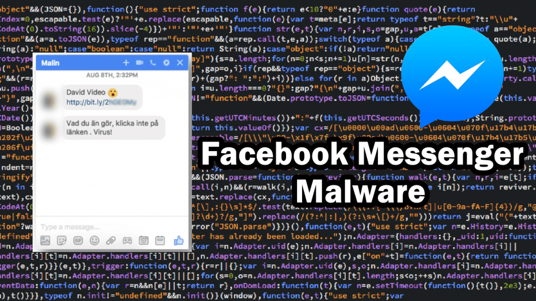 New Malware Spreading Through Facebook Messenger