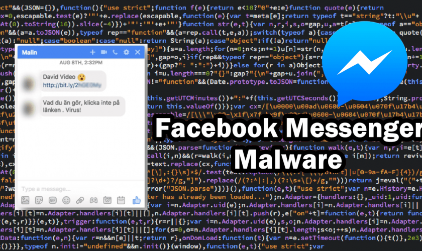 New Malware Spreading Through Facebook Messenger