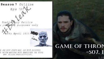 Game of Thrones Season 7 Episode 5 'Eastwatch' script leaked by hackers