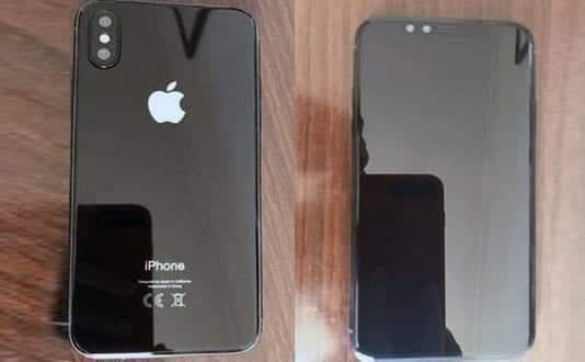 New render of Apple iPhone 8's front leaked before official release date