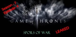"As promised hackers leak Game of Thrones Season 7 Episode 4 ""Spoils of War"" script"