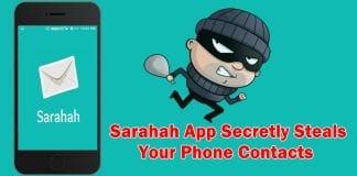 Beware! Sarahah app secretly steals all your phone and email contacts