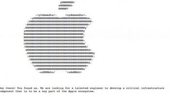 Get A Job At Apple By Finding Hidden Job Listing On Their Website