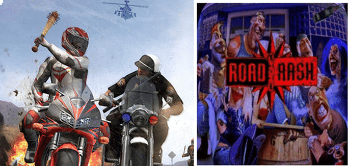 Your favourite DoS game Road Rash is coming back (Video)