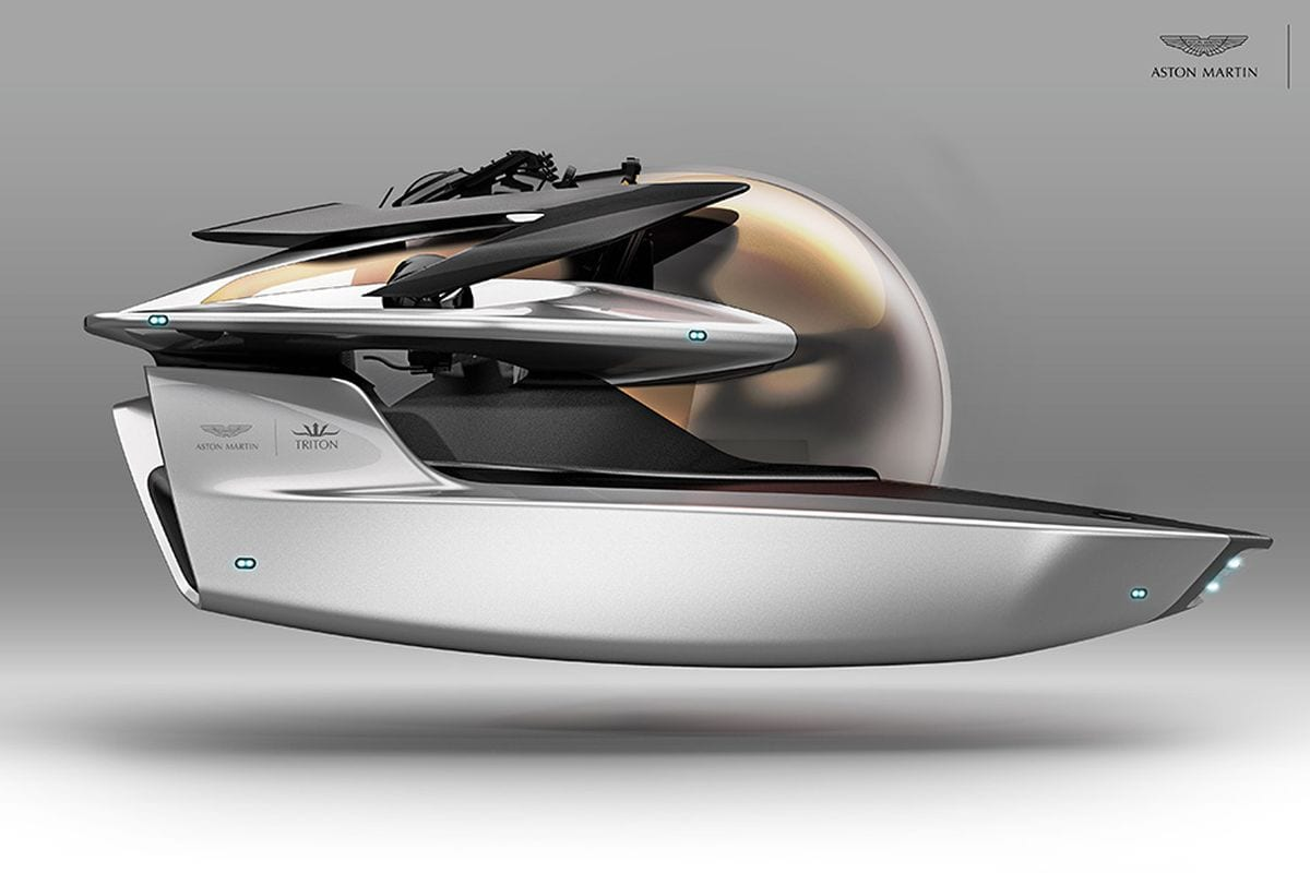 Project Neptune, a $4 million submarine from Aston Martin