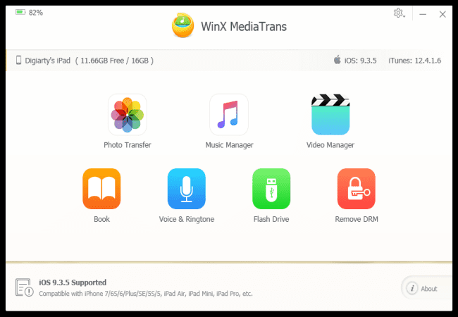 Want to back up your iPhone images/videos and files without Apple iCloud/iTunes account, here is a quick way to do it!