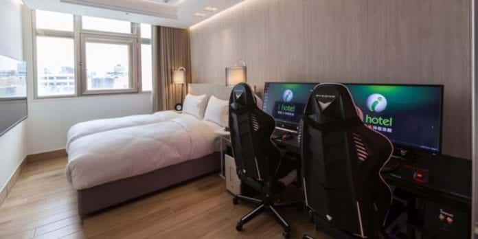 This Hotel Has Put Gaming Rigs In Every Room