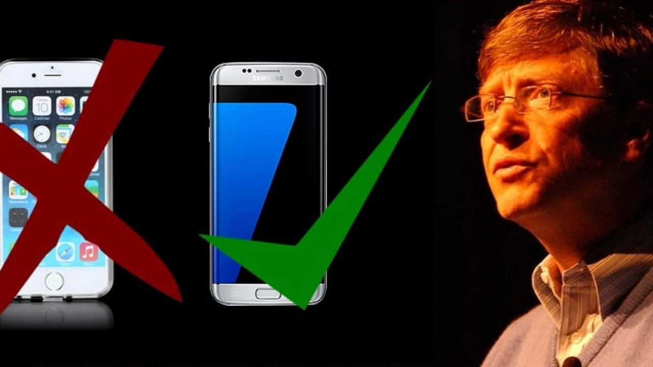 Bill Gates says no iPhone for me