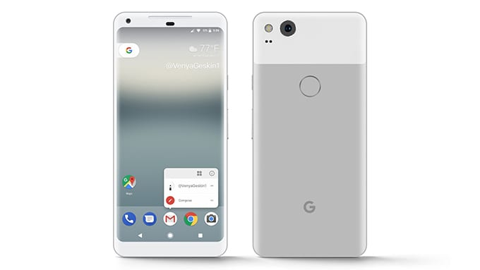 Google Pixel 2, Pixel 2 XL images, specs and prices leaked