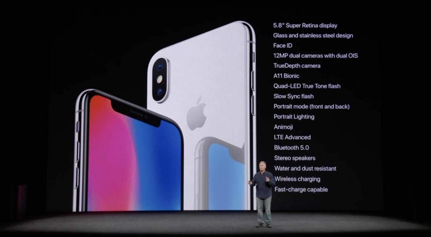 Apples New IPhone X 8 And Plus Specs Features Release
