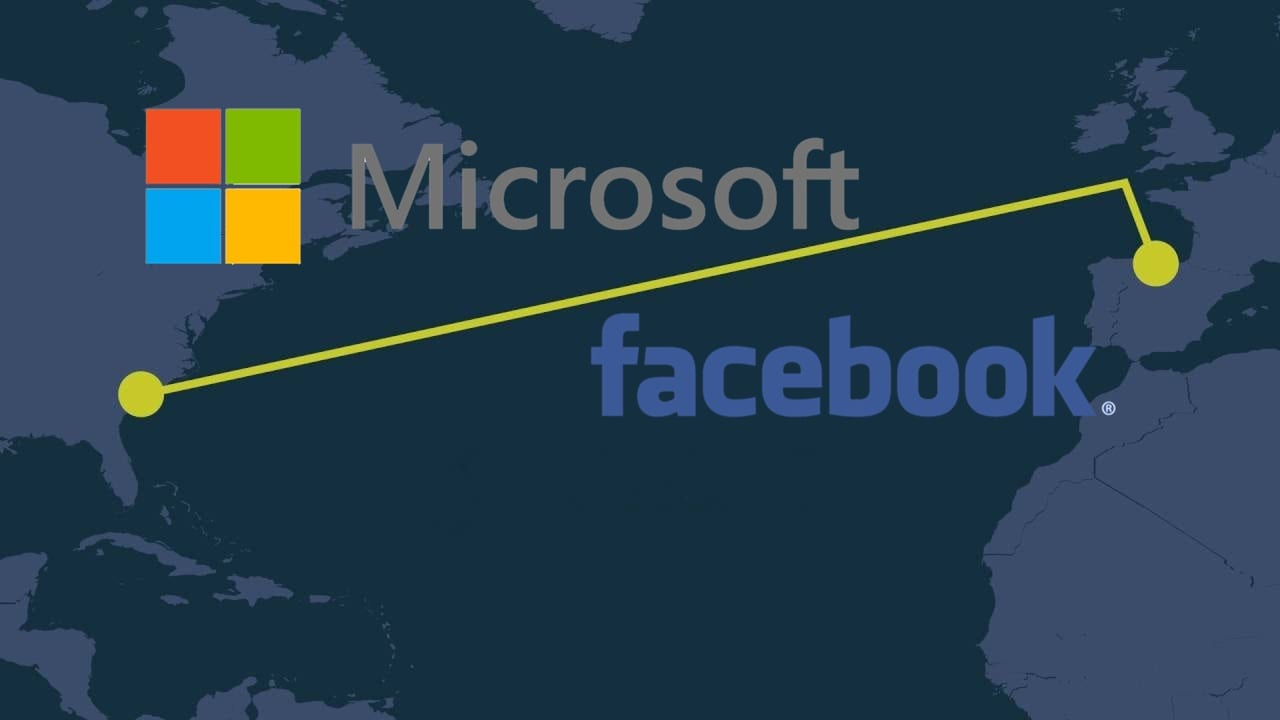 Microsoft And Facebook Complete 160 Tbps Undersea Cable Between U.S. And Spain