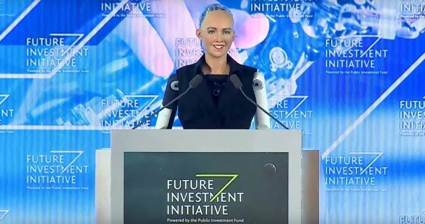 Saudi Arabia becomes first country to grant citizenship to a humanoid robot