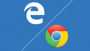 Microsoft employee installs Chrome during mid-presentation, as Edge kept crashing