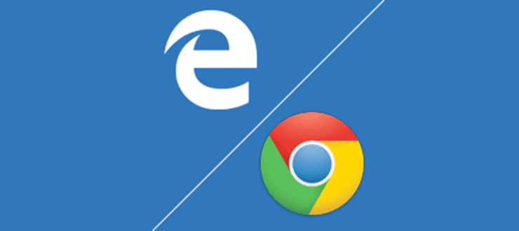 Microsoft employee installs Chrome during mid-presentation, as Edge kept crashing