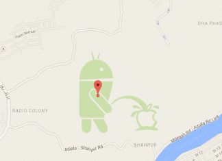 When Android Was Spotted Peeing On Apple !!!