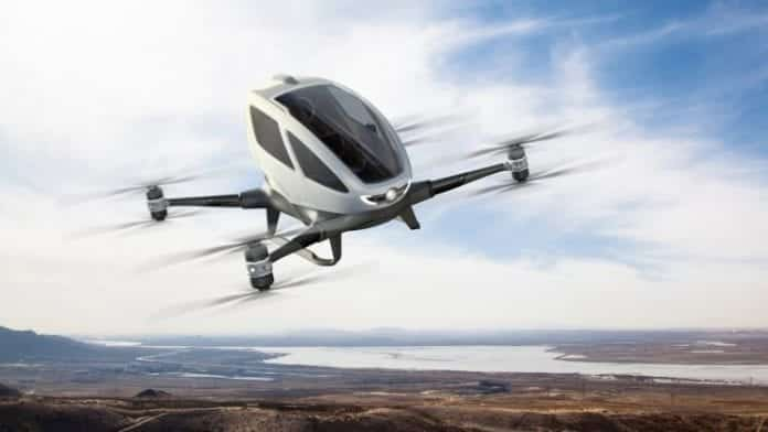 Uber and NASA collaborate for the flying taxi project