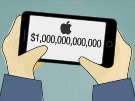 Apple could soon become the world's only $1,000,000,000,000 company